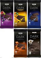FAMOUS GREEK ION DARK 90g Chocolates  All 5 flavors LOT OFFER FRESH LONG EXPIRE
