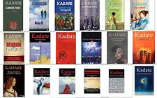 Ismail Kadare books from Albania. You can choose one book.