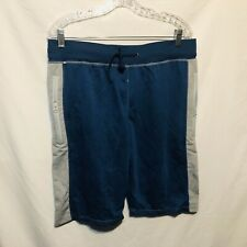 Marx & Dutch Mens Athletic Shorts Size M 32-34 Blue Gray P89