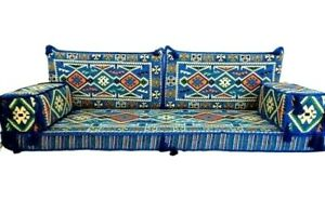 Arabic Turkish Set Oriental Sofa Majlis Kilim Floor Corner Cushions Only covers
