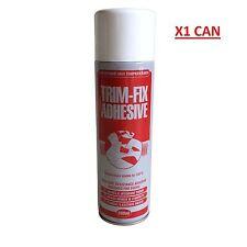Trim Fix Heat Resistant Headlining Carpet Leather Adhesive Glue Spray 500ml