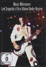 Led Zeppelin - Music Milestones - First Album Under Review (2011) DVD NEW/SEALED