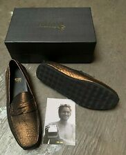 NIB Huf Dylan Rieder Driver Gold Metallic 2019 Only 150 Pairs Made Men's Size 7