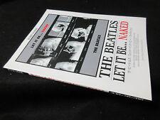Beatles Let It Be ... Neked Japan Band Score Song Book in 2004 McCartney Lennon