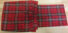 True Vintage Red Tartan Trousers Genuine 1970s Punk W32 L29