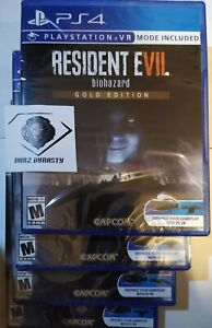 Resident Evil 7 Biohazard - Gold Edition - PS4 - Brand New | Factory Sealed
