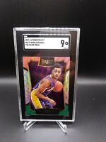 2015-16 Panini Select Tri-Color Prizm #62 D'Angelo Russell RC Rookie SGC 9 PSA