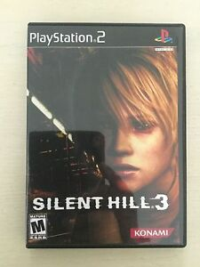 Replacement Case (NO GAME!) Silent Hill 3 - Sony Playstation 2