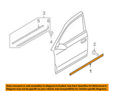 AUDI OEM 05-11 A6 Quattro Front Door-Lower Molding Trim Right 4F0853960KGRU