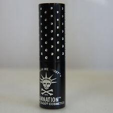 MANIC PANIC NOSFERATU Black Matte Lethal Lipstick Goth Glam Rock NEW