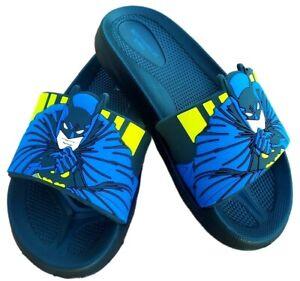 ciabatte BATMAN da bambino estive in gomma mare piscina sandali per bambini