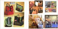 Purse Pocketbook Handbag Totes & Hats Sewing Patterns {Choose}
