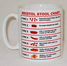 Bristol Stool Chart Mug Great Gift Hospital Doctor Nurse HCA Carer Matron