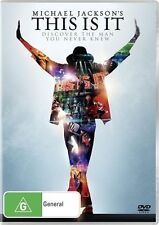 THIS IS IT DVD=JACKSON, MICHAEL=REGION 4 AUSTRALIAN RELEASE=NEW AND SEALED