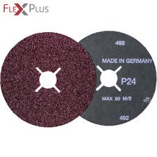 5x  VSM KF736 Kompaktkorn/Aglomerat - Fiberscheibe Schleifscheibe   Ø180mm  K180