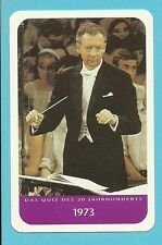 Benjamin Britten Death in Venice (opera) Cool Collector Card from Europe