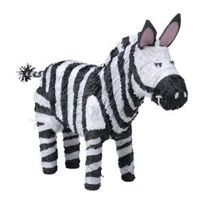 Zebra Pinata - Zoo Animal Birthday Party Supplies