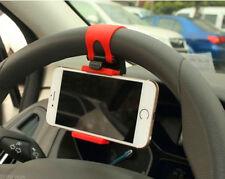 AUTO ACCESSORIES Clip Car Steering Wheel Bike Handlebar Holder For Car