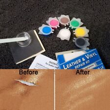 No Heat Liquid Leather Vinyl Repair Kit Fix Holes Burns Rips Gouges TearsCJ