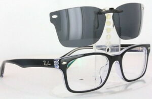 Custom Fit Polarized CLIP-ON Sunglasses For Ray-Ban RB5286 53X18 5286
