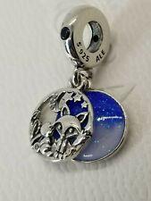 new Authentic Pandora S925 Fox & Rabbit Dangle Charm 798239NMB