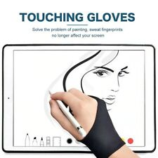 Anti Fouling Two Finger Glove Artist Drawing Pen Graphic Tablet Pad Free Ship
