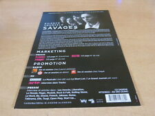 SAVAGES - SILENCE YOURSELF !!RARE FRENCH PRESS/KIT!!!!!!!