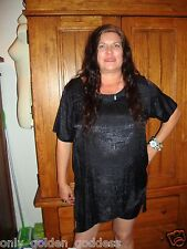 mystic clothing black blouse top uneven hem beautiful style short sleeve