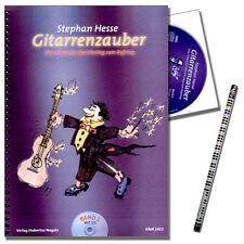 Gitarrenzauber 1 - Gitarrenschule mit CD, Stephan Hesse - KN1413 - 9990051337631