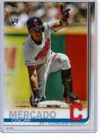 Oscar Mercado 2019 Topps Update Variations 5x7 #US28 /49 Indians