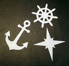 Scrapbooking - craft - card making - embellishments - Nautical shapes