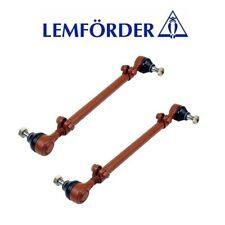 For Mercedes R107 190 200D Set of Left & Right Tie Rod Assembly Lemfoerder