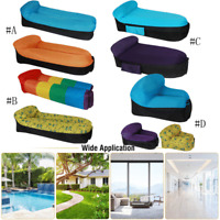 Air Sleeping Bag Lazy Chair Inflatable Lounge Air Bed Beach Sofa Bed Water Float