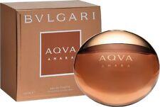 New Bvlgari Aqva Amara Eau de Toilette Spray Cologne Men 3.4 Ounce Sealed Box
