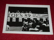 [ALTER-MONDIALISME] 1er SOMMET 7 PAYS PAUVRES PARIS PHOTO Vintage 1989 TOES b