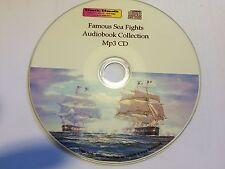 Famous Sea Fights inc Trafalgar - audiobook Mp3 CD