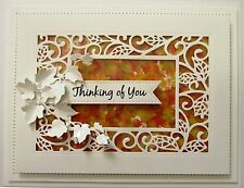 Creative Expressions Sue Wilson Craft Die - SCATTERED LEAVES CED7103 Background