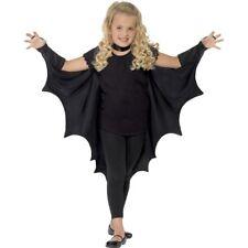 Smiffys Kids Unisex Vampire Bat Costume Wings Black One Size 44414