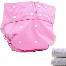 LukLoy - Teen / Adults Cloth Diapers Nappy with 2pcs Inserts for Incontinence