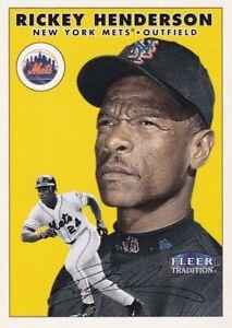 2000 Fleer Tradition Baseball Card Set Complete (450)  - NrMt-Mt