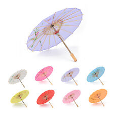 2019 Chinese Japanese Umbrella Art Deco Painted Parasol For Wedding Dance Party