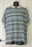 Woolrich Southwest / Aztec Patterned Short Sleeve Mens Shirt Size XL 100% Cotton