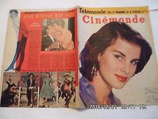 CINEMONDE N°1074 4/3/1955 A.LUALDI J.GARLAND J.CHEVRIER JC PASCAL J.GRECO   K10
