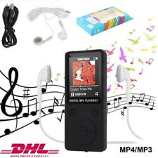 MP3 Spieler HiFi Bass Musik Player FM Radio 1.8 LCD Digital Display + Headset