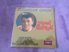 CD EP Single JOHNNY HALLYDAY - les disques d'or de la chansons dov.14 NEUF