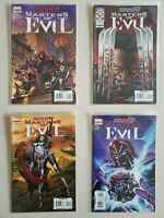 House Of M 2009 Masters Of Evil 1 2 3 4 Marvel Set Series Run Lot 1-4 VF/NM