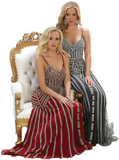 PROM QUEEN FORMAL GALA GOWNS SPECIAL OCCASION RED CARPET EVENING DRESS PAGEANT