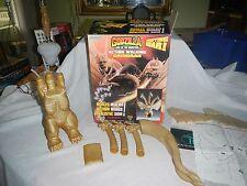 "Trendmasters Godzilla ""ACTION WALKING KING GHIDORAH"" Battery Op in Box 1994"
