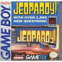 Jeopardy On Gameboy Trivia Game Only 4E