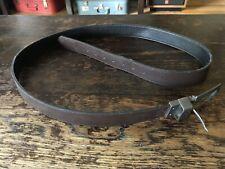 Ecko Unltd Men's Belt Reversible Black/Brown Size 48/50 Leather Brushed Chrome